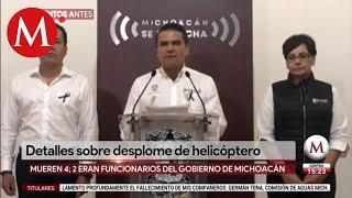 Silvano Aureoles llama a no especular tras accidente