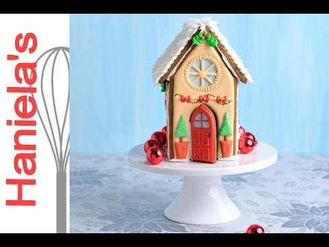 CHRISTMAS GINGERBREAD HOUSE, HANIELA'S