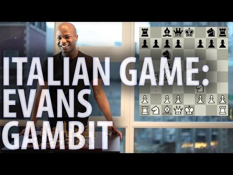 Chess openings - Italian Game: Evans Gambit