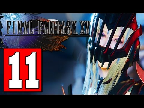 Final Fantasy XV Walkthrough Part 11 Quest PARTY OF THREE Locate the Mythril
