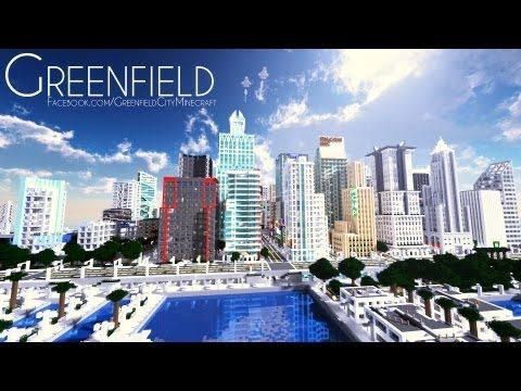 BROVILLE: Largest Minecraft City (New Districts) - YouTube