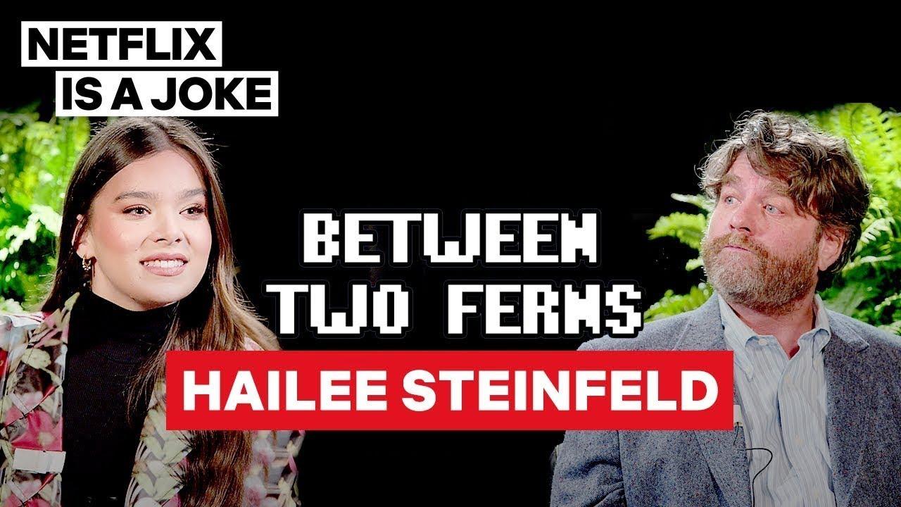 Download Hailee Steinfeld: Between Two Ferns with Zach Galifianakis | Netflix Is A Joke