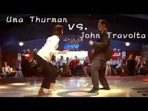 Pulp Fiction Dance Scene: You Never Can Tell by Chuck Berry[Lyrics Sub]