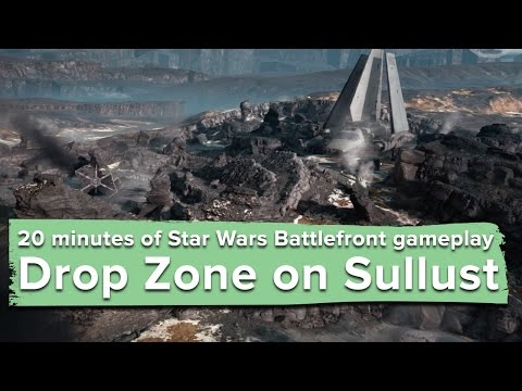 20 minutes long gameplay of Star Wars: Battlefront on a new map