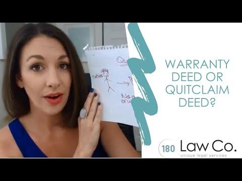 Warranty Deed v. Special Warranty Deed v. Quitclaim Deed - All Up In Yo' Business