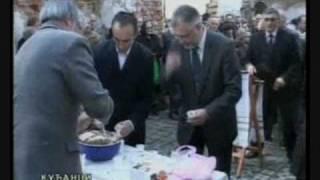 Ispracaj patrijarha srpskog Pavla u njegovom rodnom mjestu Kucanci Baranja 18.11.2009. †