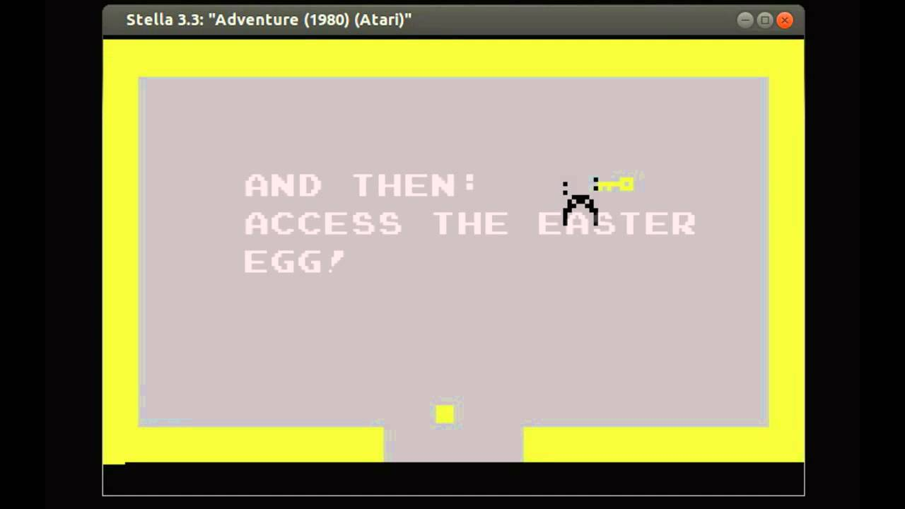 Achieving Victory and Accessing the Easter Egg in Adventure (Atari, 1980)