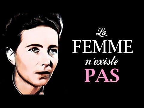 SIMONE DE BEAUVOIR - Le féminisme existentialiste 📏