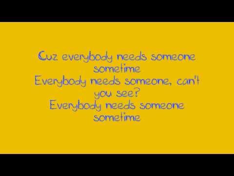 Jewel - Everybody Needs Someone Sometime
