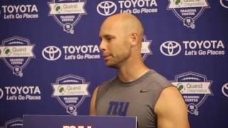 Giants' Josh Brown, Ben McAdoo address Brown's suspension
