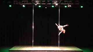 2018 US Pole Dance Championship Novice Level 2 Sexy Division - Olga Branson