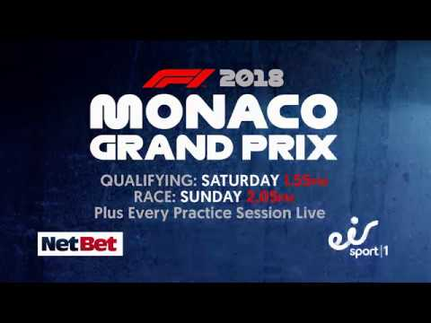 Don't miss the Monaco GP LIVE this Sunday
