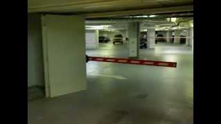 видео ворота пожарные распашные