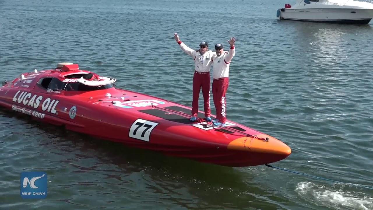 new speedboat record set between key west and havana youtube