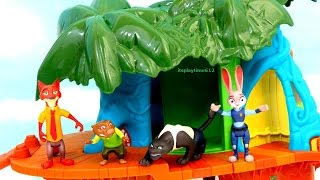 Zootopia Danger In The Rainforest District Playset from Tomy | itsplaytime612