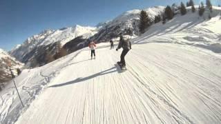 2012-02 Червиния - Церматт, покоряем Альпы (GoPro HD)(Видеоотчет о шести днях в ИтальянскихШвейцарских Альпах. Включает зарисовки в дороге, катание по синим,..., 2012-03-09T16:29:27.000Z)