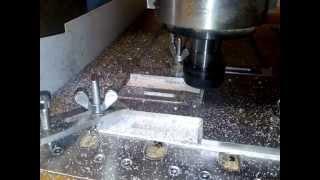 крепеж(Изготовление крепежа из алюминия на фрезерном ЧПУ станке., 2014-06-29T12:27:30.000Z)