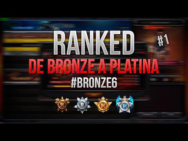 [cf] #1 Ranked | De Bronze A Platina | Bronze 6 | Crossfire Al 2.0