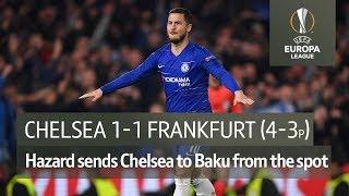Chelsea vs Frankfurt (Chelsea win 4-3 on penalties) | UEFA Europa League Highlights