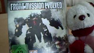 Unboxing/Unpacking - Front Mission Evolved - Playstation 3 (German)