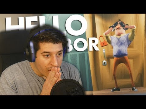 MOJ SUSJED JE LUDDDD!!!! (Hello Neighbor ACT 1)