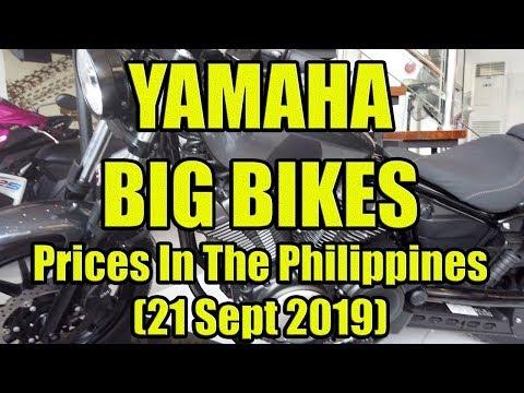 Yamaha Big Bikes Update In The Philippines.