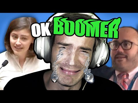 STOP calling me A BOOMER!!!