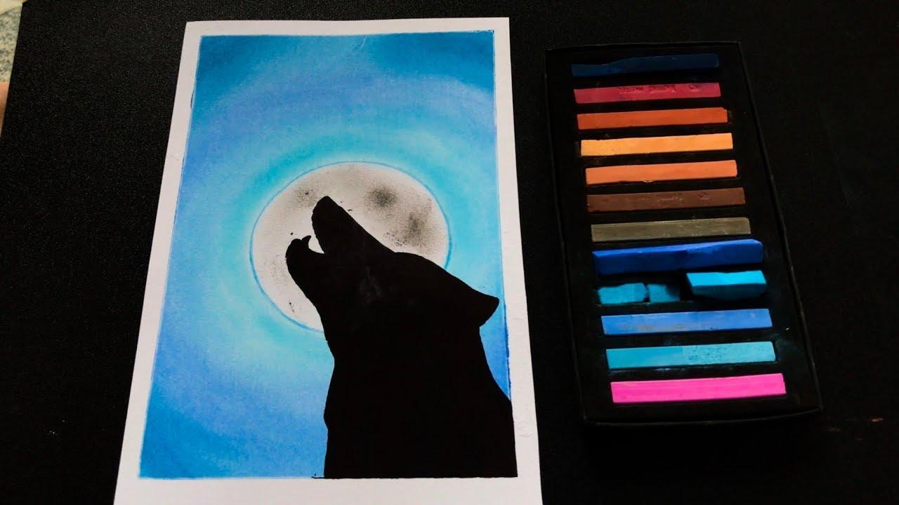 how to draw galaxy picture | vẽ tranh galaxy tranh tik tok