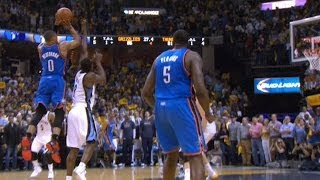 Russell Westbrook's CLUTCH Game-Tying Four-Point Play!