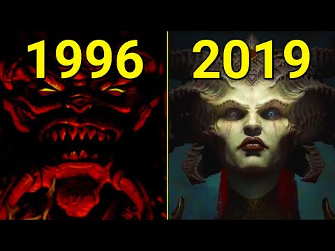 Evolution of Diablo 1996-2019