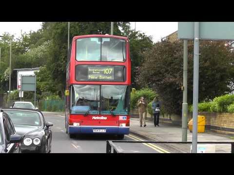 Metroline route 107 on 16th June 2012