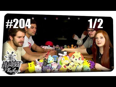 [1/2] Almost Plaily #204   Pokémon-Special mit Gunnar, Bell, Alwin und Gino   27.10.2015