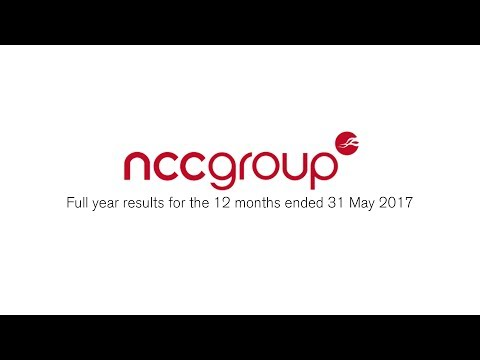 Full year results for the 12 months ended 31 May 2017
