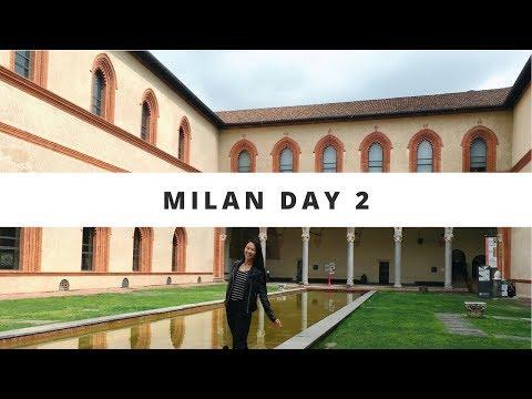 Milan Day 2~ SFORZA CASTLE, PARCO SEMPIONE, and NAVIGLIO GRANDE