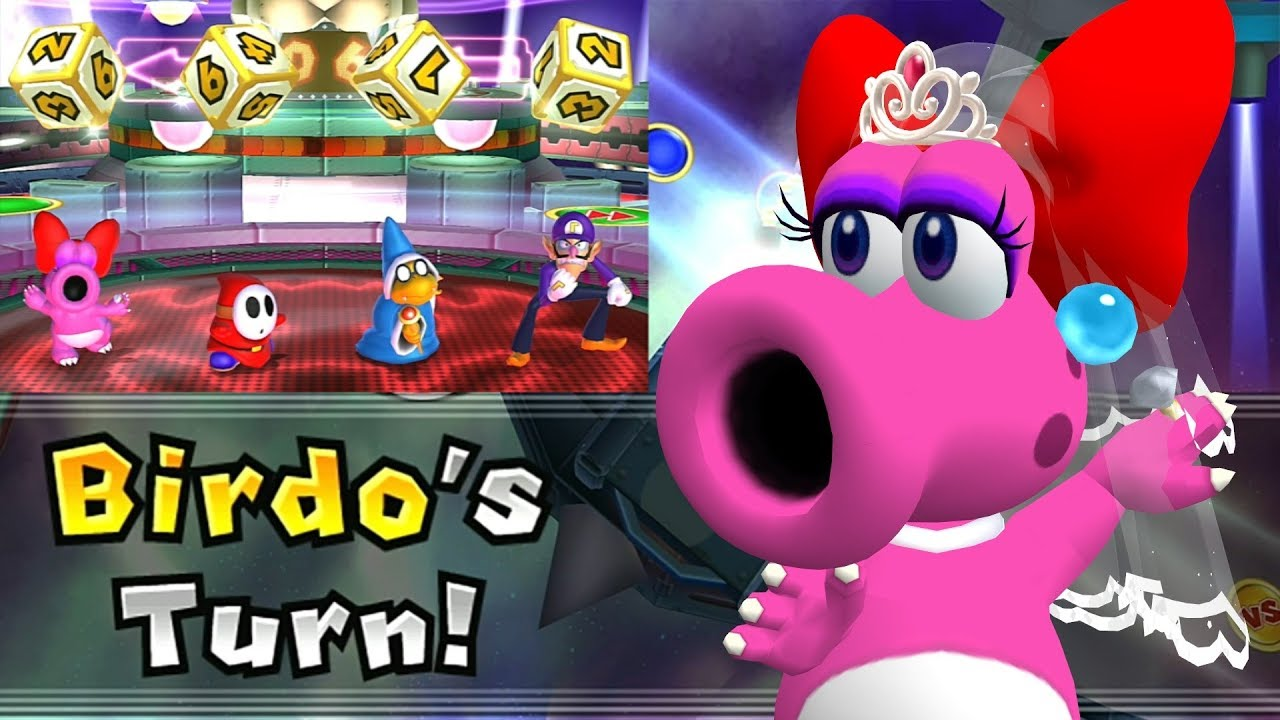 Mario Party 9 Solo Mode Birdo Bowser Station Part 6 382 Youtube