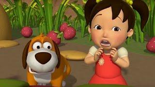 Английский язык для малышей - Мяу-Мяу - сборник серий - 11 - 15 серии - учим английский