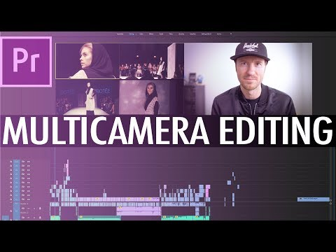 Multi Camera Editing In Premiere CC 2019 - FAST