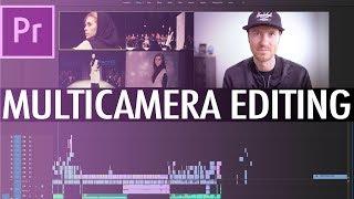 Multi Camera Editing in Premiere CC 2018 - FAST