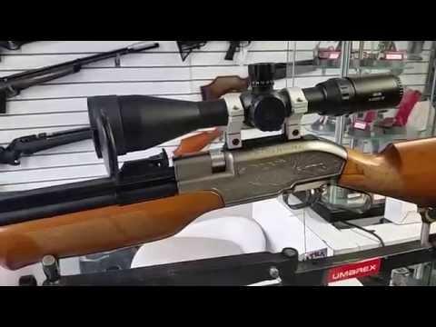 Rifle PCP Sumatra 2500 500cc prueba de velocidad, potencia y agrupación a 50mt