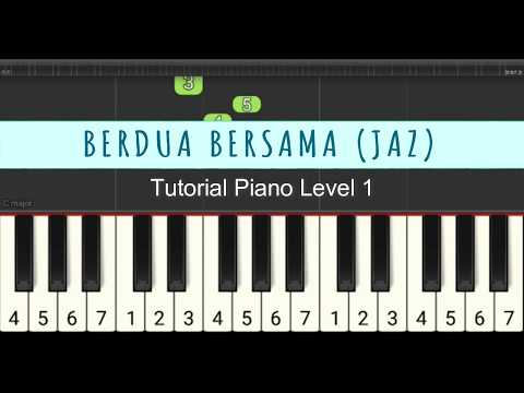 Not Piano Berdua Bersama - Milly & Mamet - Jaz -tutorial Level 1 Pemula
