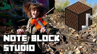 "Lindsey Stirling - ""Electric Daisy Violin"" [Minecraft Note Block Studio] (download link)"