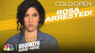 Cold Open: Rosa and Jake Get Nabbed for Bank Robbery - Brooklyn Nine-Nine