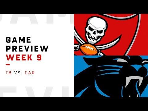 Tampa Bay Buccaneers vs. Carolina Panthers | Week 9 Game Preview | NFL Playbook