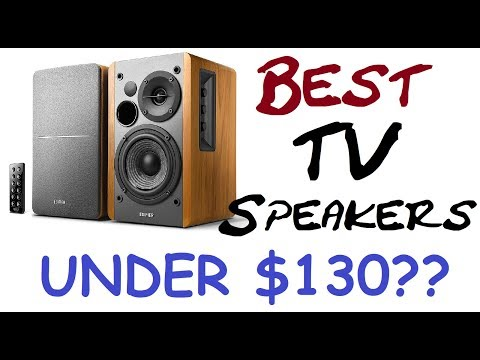 Edifier R1280DB: Absolute Best TV Speakers For Under $130?