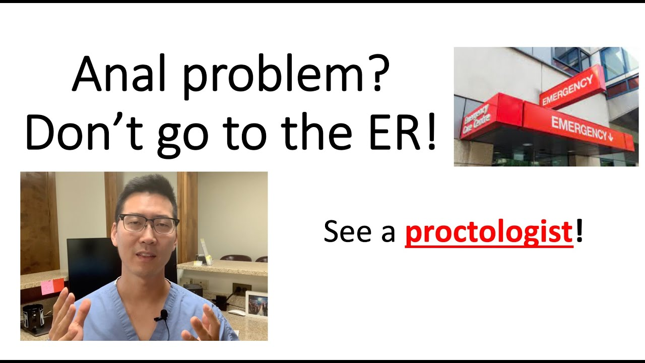 Download Don't go to the ER!  6 reasons why a proctologist is better.