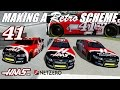 Making the No. 41 Haas/NetZero Retro Chevy SS - NR2003 Paint Scheme Timelapse