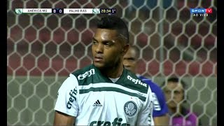 Miguel Borja vs América-MG • Copa do Brasil 09/05/2018 • HD 1080p