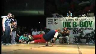 Pokemon Vs. Mortal Kombat - UK BBoy Champs 2007 (DVD) Crews Battle