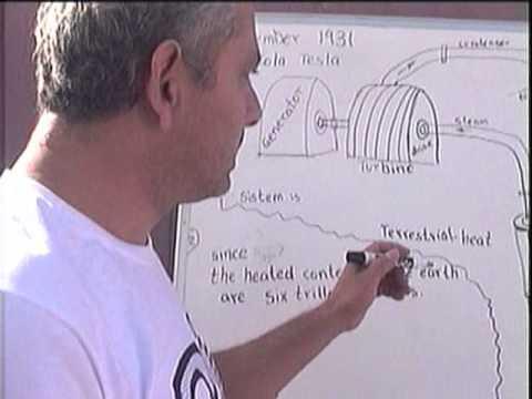 Nikola Tesla's Geothermal  Energy