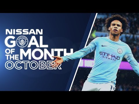 SANE, FERNANDINHO OR STERLING? | Goal of the Month - October